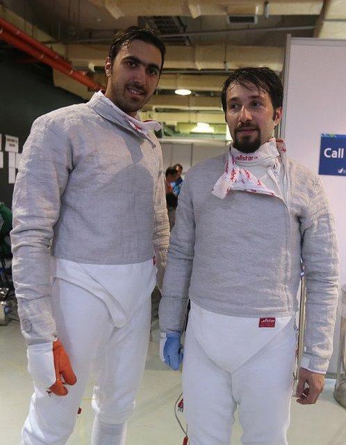 صعود مجتبی عابدینی و علی پاکدامن به جمع 32 نفر پایانی دنیا