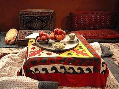 آداب و رسوم شب یلدا در استان مازندران، از فالگوش ایستادن تا قاشق زنی