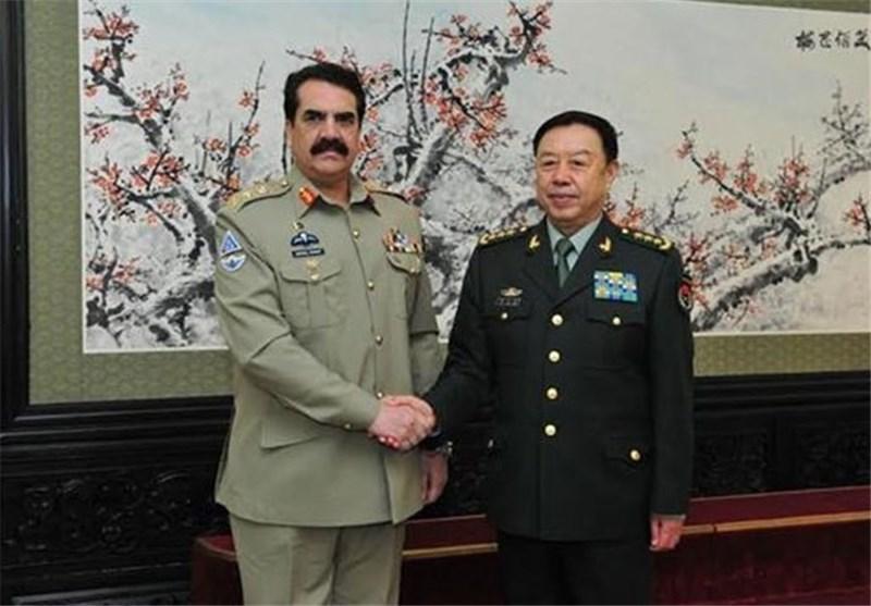 ملاقات مقامات نظامی چین با اسلام آباد قبل از سفر راحیل شریف به آمریکا