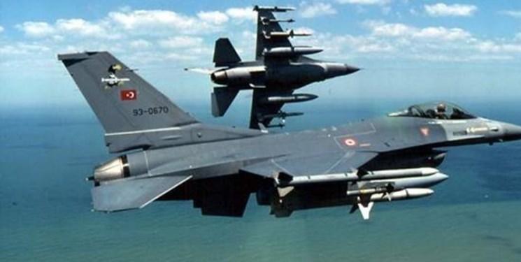 نقض مجدد حریم هوایی یونان از سوی جنگنده های ترکیه در24 ساعت گذشته
