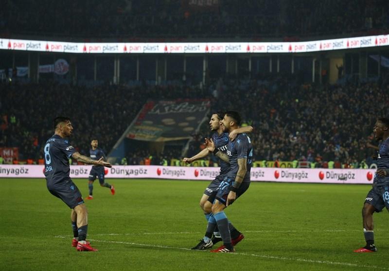سوپرلیگ ترکیه، بارگشت ترابزون اسپور به صدر جدول با کسب چهاردهمین پیروزی فصل