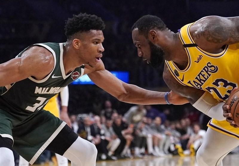 لیگ NBA، جدال غول ها به سود یاران جیمز به خاتمه رسید