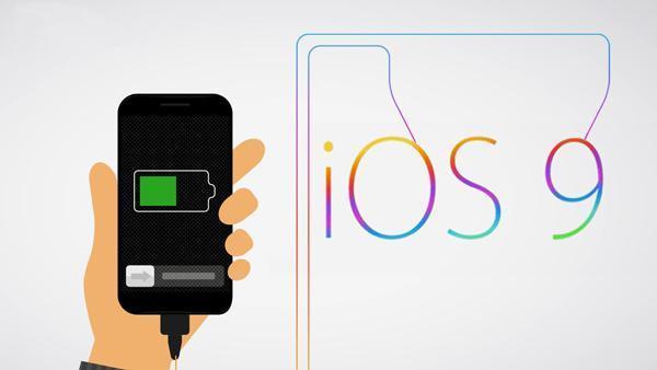 شارژدهی باتری گوشی های آیفون در IOS 9