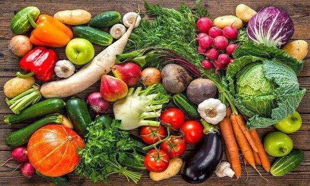 شناسایی ارزش تغذیه ای مواد غذایی از رنگ آنها!
