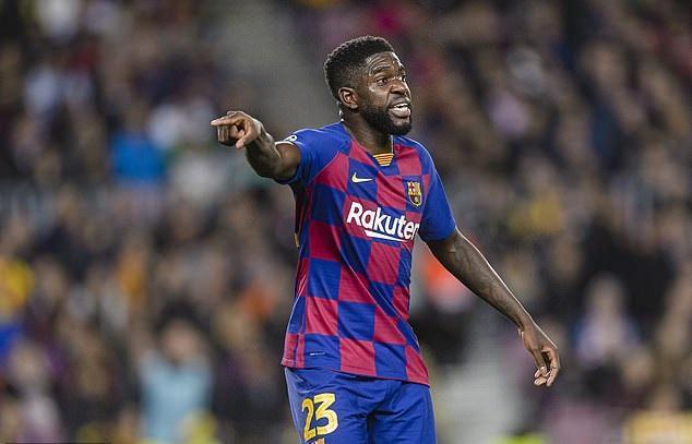 اومتیتی نمی خواهد از بارسلونا جدا گردد