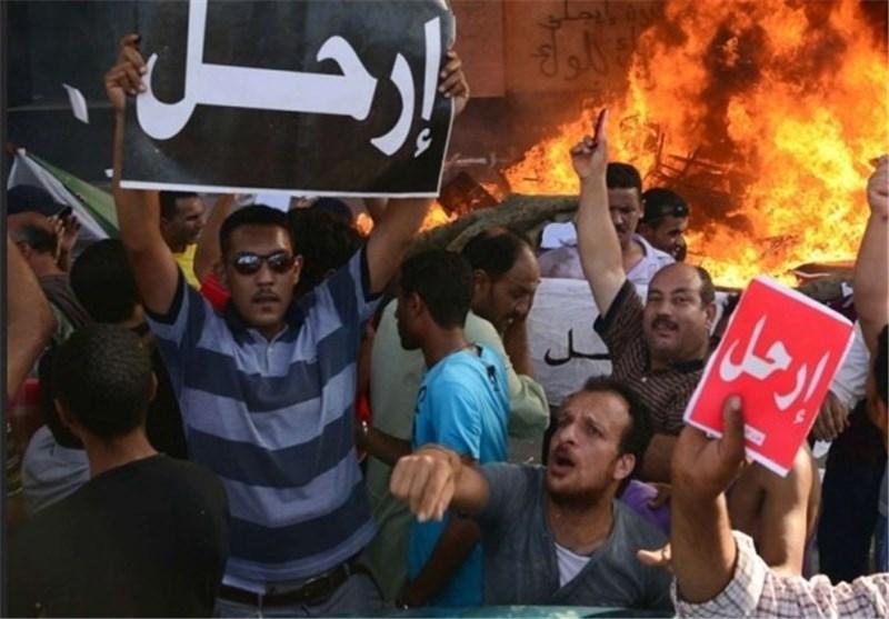 استاندار اسماعیلیه مصر هم استعفا کرد