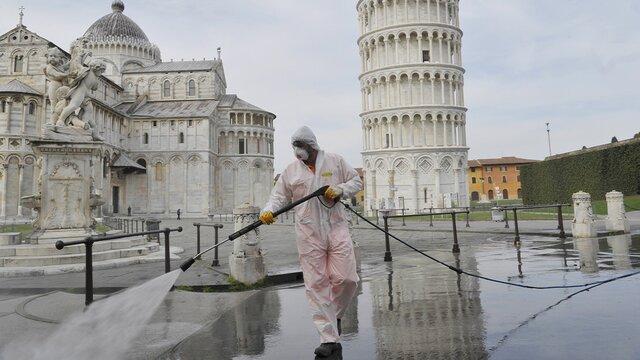 کمترین میزان قربانیان کرونا در ایتالیا از 19 مارس