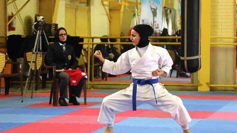 خبرنگاران بانوان قهرمان مسابقات مجازی کاراته قم معرفی شدند