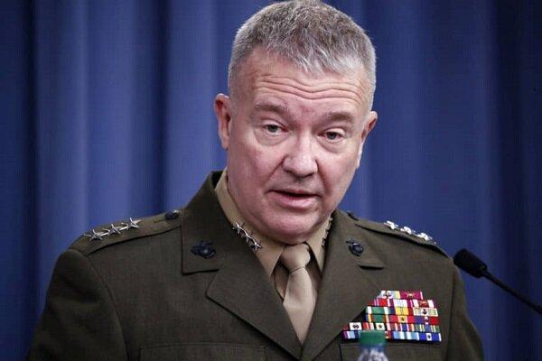 موضع گیری فرمانده تروریستهای آمریکایی در منطقه علیه ایران