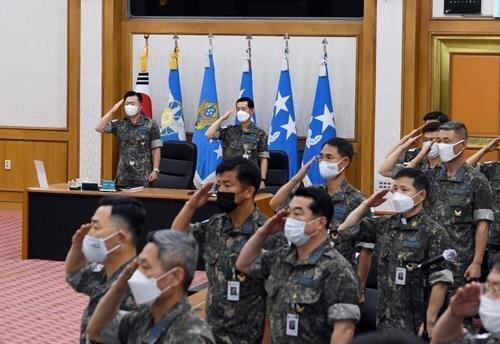 آماده باش نیروی هوایی کره جنوبی