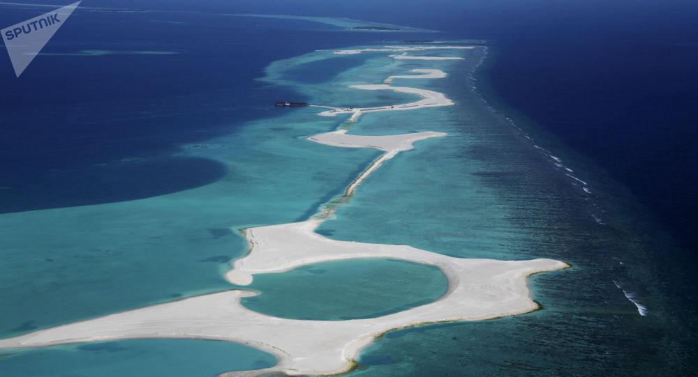 آغاز فرایند شکل گیری یک قاره جدید در اقیانوس هند