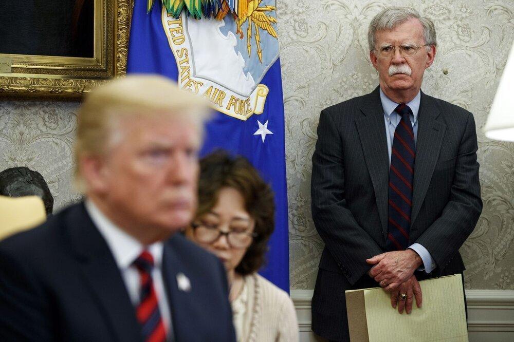 افشاگری جنجالی بولتون علیه رئیس جمهور آمریکا، ترامپ دست به دامن چین شده بود