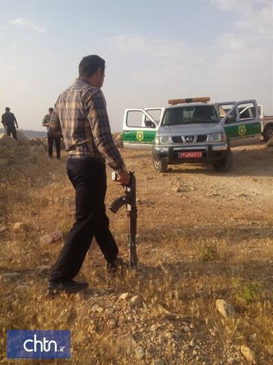 دستگیری 2 حفار غیرمجاز در اندیمشک