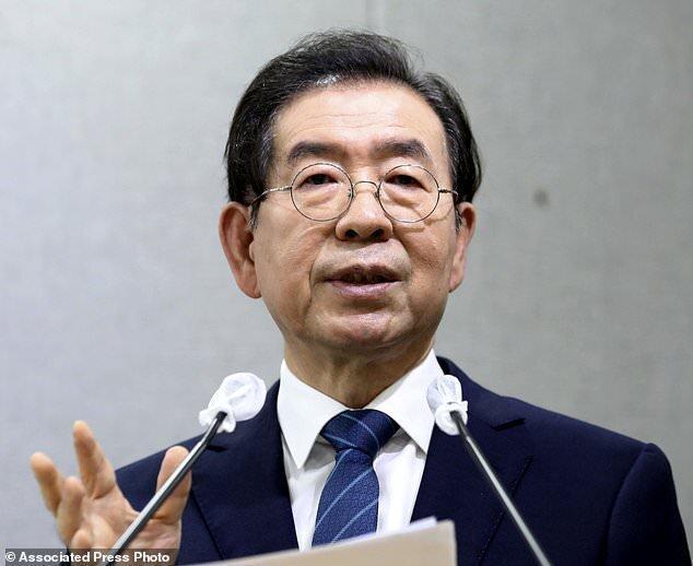 گم شدن شهردار سئول، پلیس در جستجوی او