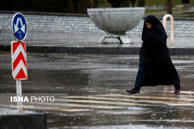هشدار هواشناسی نسبت به تشدید بارندگی در بعضی استان ها