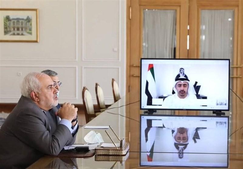 تاکید ظریف بر ادامه گفتگوی منطقه ای بر مبنای ایده ابتکار صلح هرمز