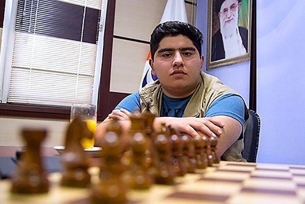 پرهام مقصودلو قهرمان مسابقات شطرنج منتخب اساتید ایران شد