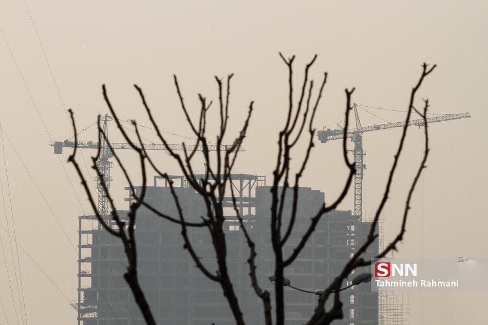 افزایش غلظت برخی آلاینده ها در هوای تهران