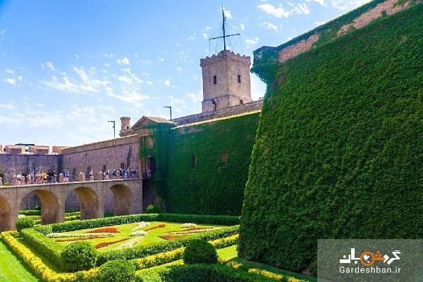 قلعه مون جویک؛از نمادهای طبیعی بارسلونا ، عکس