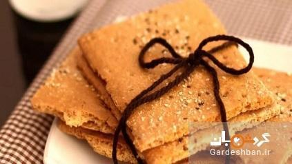 طرز تهیه نان قندی سنتی و خانگی