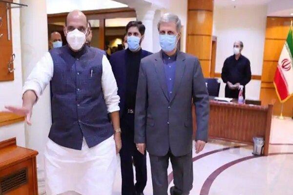 وزیر دفاع هند: ملاقات بسیار مفیدی در ایران داشتم