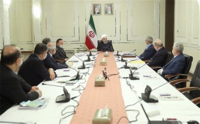 روحانی: وضع جرائم برای تضمین رعایت دستورالعمل های بهداشتی ضروری است