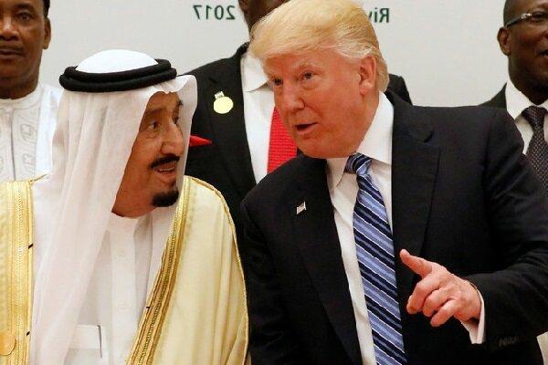 پادشاه و ولی عهد عربستان برای ترامپ شفای عاجل آرزو کردند