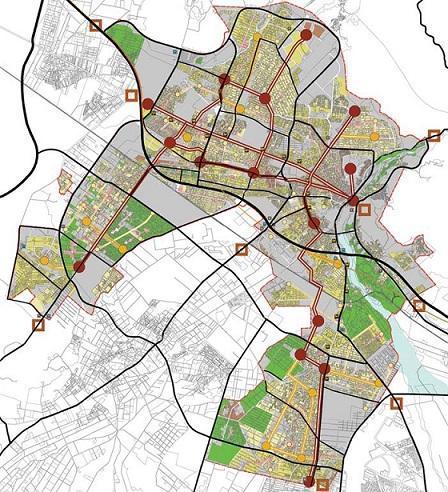 بازنگری طرح تفصیلی شهر کرج برای جانمایی آثار و ابنیه تاریخی