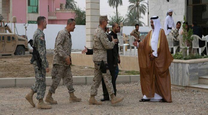 خبرنگاران یک منبع عراقی از طرح آمریکا برای تقسیم منطقه ای این کشور اطلاع داد