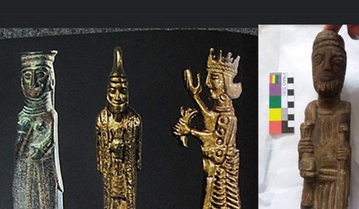 مجسمه کشف شده در نایین بررسی باستان شناختی می شود
