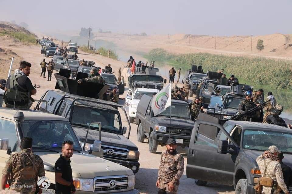 آغاز عملیات گسترده الحشد الشعبی علیه داعش در استان صلاح الدین