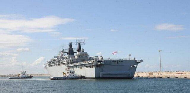 رزمایش مشترک نیروهای دریایی مصر و انگلیس