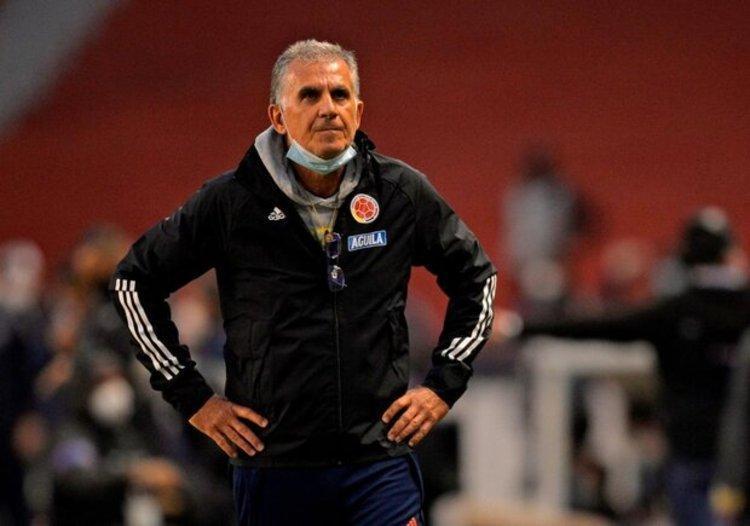 (عکس) کارلوس کی روش جعلی هواداران کلمبیا را فریب داد!