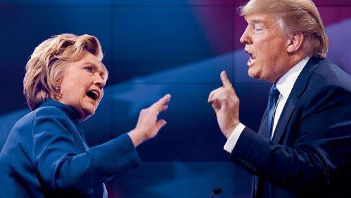 خبرنگاران انتقاد هیلاری کلینتون از تلاش ترامپ برای نپذیرفتن نتایج انتخابات