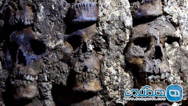 بخش جدیدی از برج جمجمه در مکزیک کشف شد