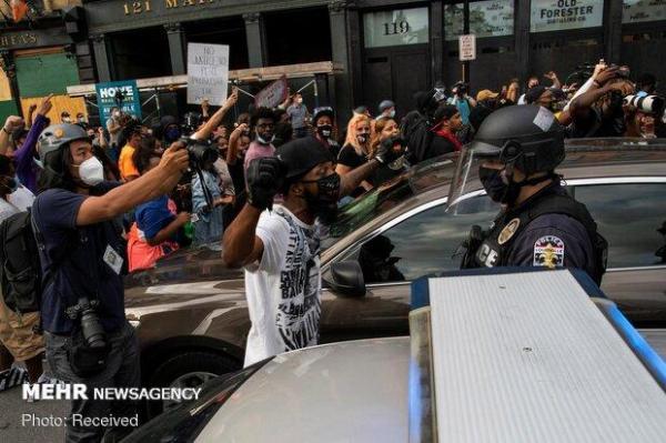 اوهایو صحنه اعتراضات ضد نژادپرستی شد