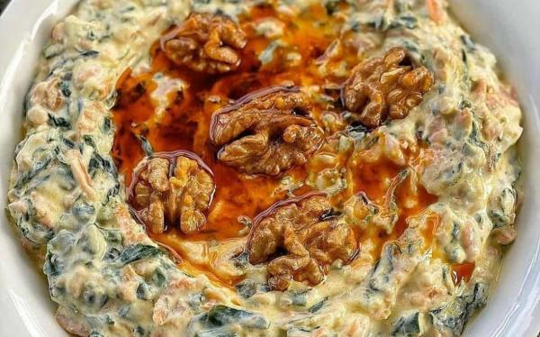 طرز تهیه بورانی اسفناج و هویج