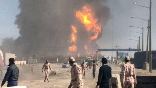مهار آتش سوزی در نزدیکی مرز ایران و افغانستان