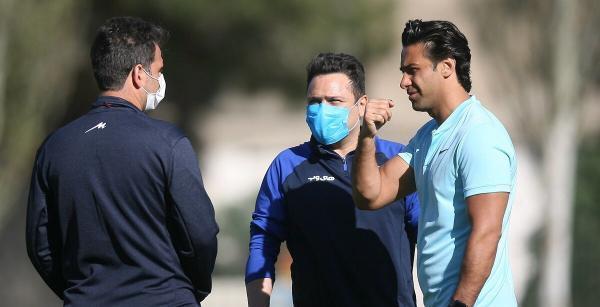 کوشش باشگاه استقلال برای حفظ اسکلت اصلی تیم، احتمال جدایی حسین حسینی در سرانجام فصل