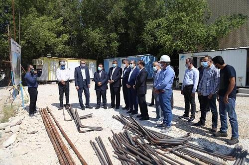 عملیات عمرانی ساختمان دانشکده کسب و کار و اقتصاد دانشگاه خلیج فارس شروع شد