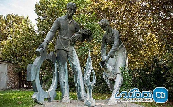 باغ مجسمه موزه هنرهای معاصر باز می گردد