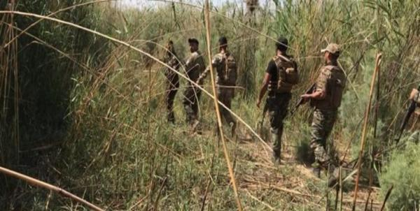 عملیات الحشد الشعبی علیه عناصر داعش و مخفیگاه های آن در جنوب سامراء