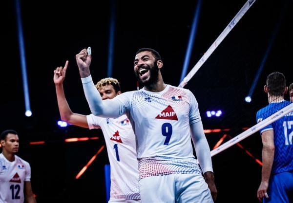 لیگ ملت های والیبال، فرانسه با درخشش انگاپت سوم شد
