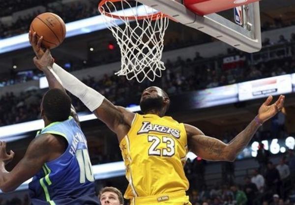 لیگ NBA، اسپانسر نو لیکرز، 100میلیون دلار برای 16 سانتی متر مربع!
